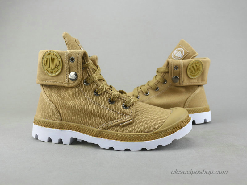 Palladium Baggy Canvas Khaki Csizmák