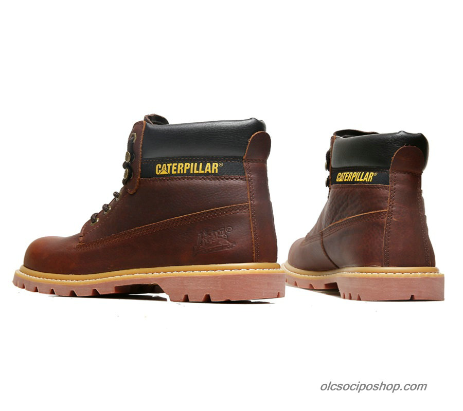 Férfi Caterpillar Colorado Waterproof Maroon Csizmák