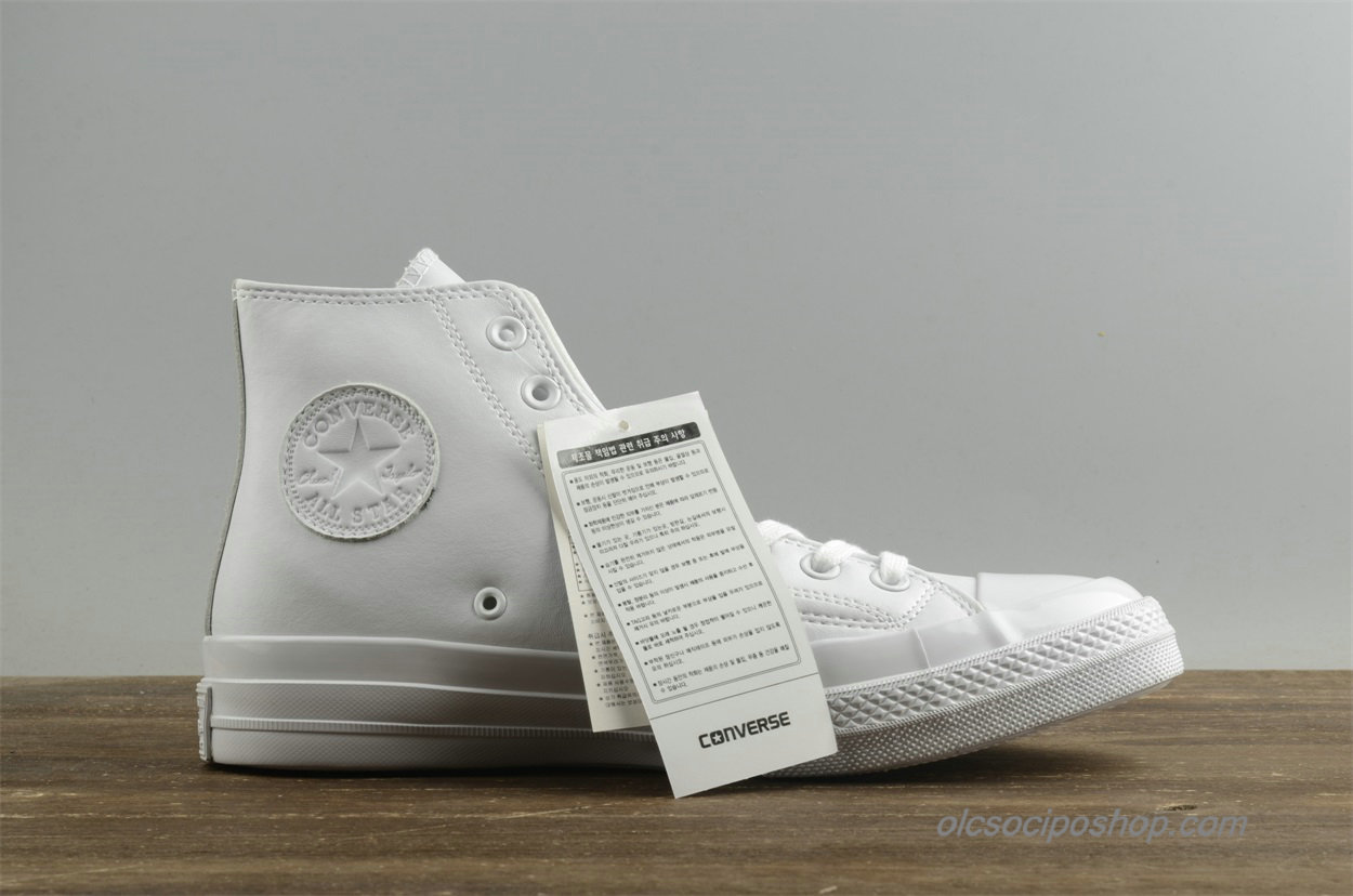 Converse Chuck Taylor All Star 1970s HI Leather Fehér Cipők (155453C)