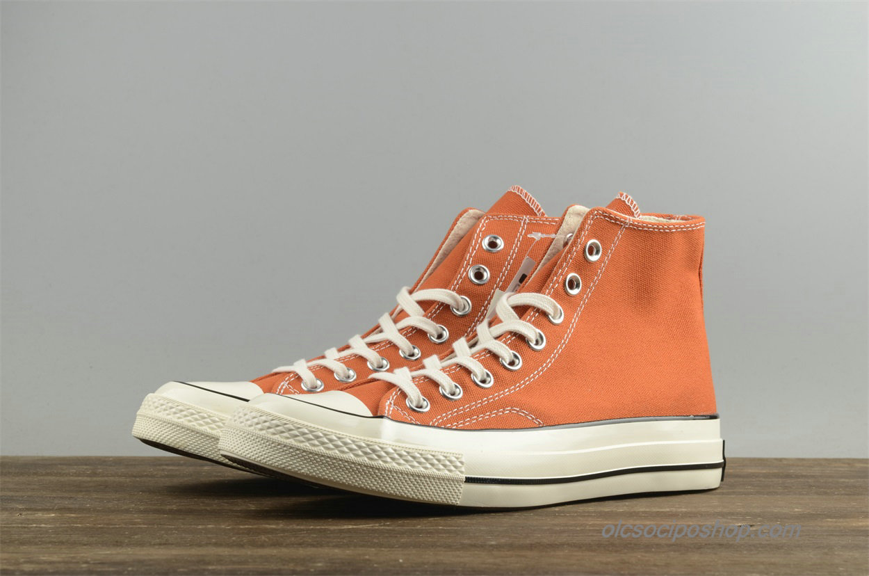 Converse Chuck Taylor All Star 1970s HI Leather Narancs Cipők (157569C)